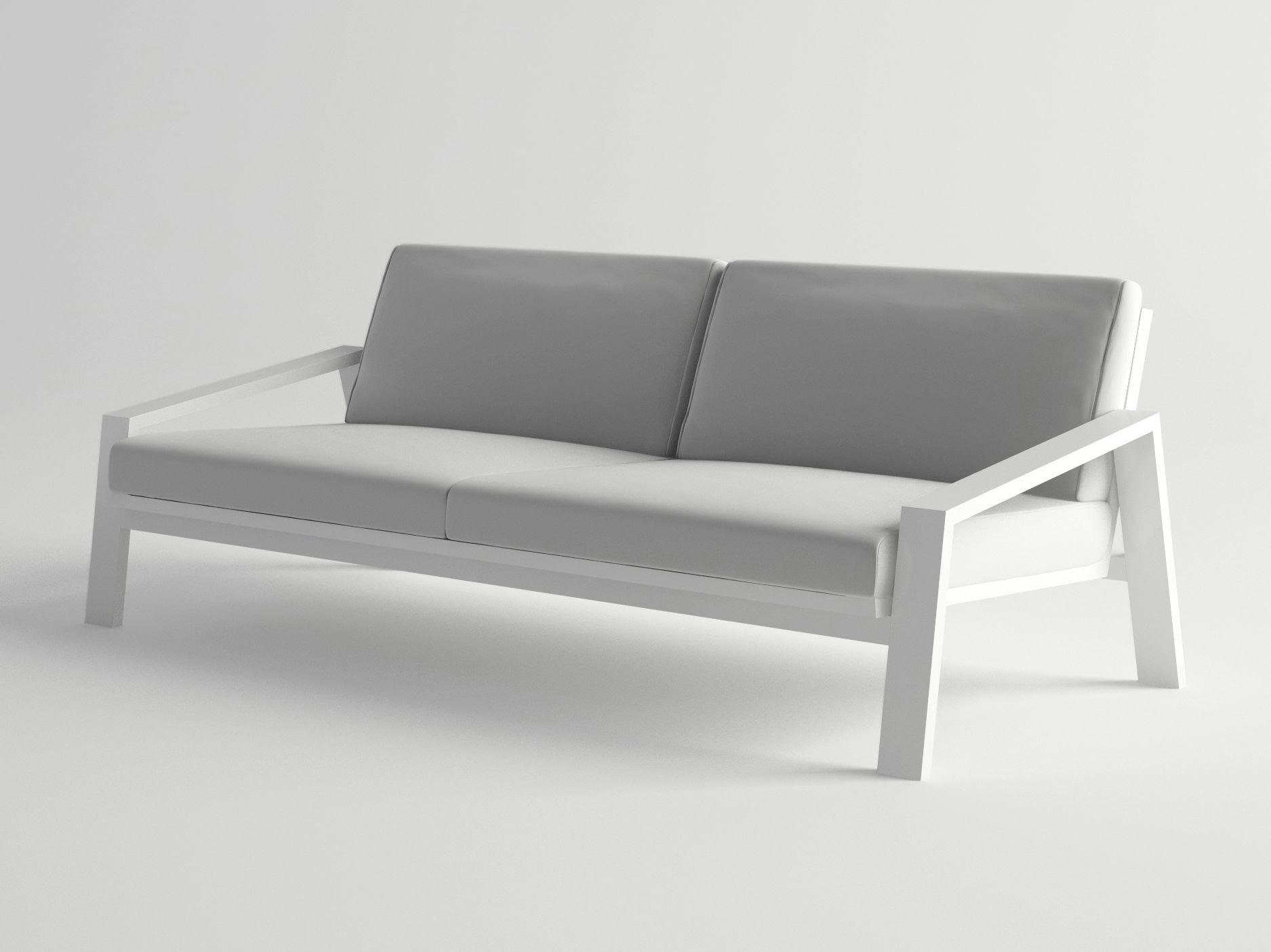 Garden sofa PULVIS Collection by 10Deka design George ...