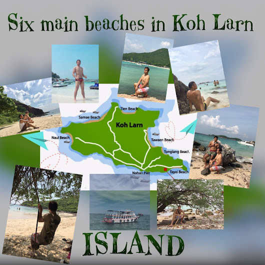 You will never get lost in Koh Larn Island-Pattaya