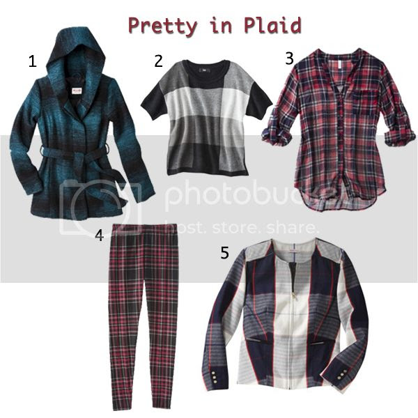 plaid fashion trend fall 2013, Target Style plaid pieces