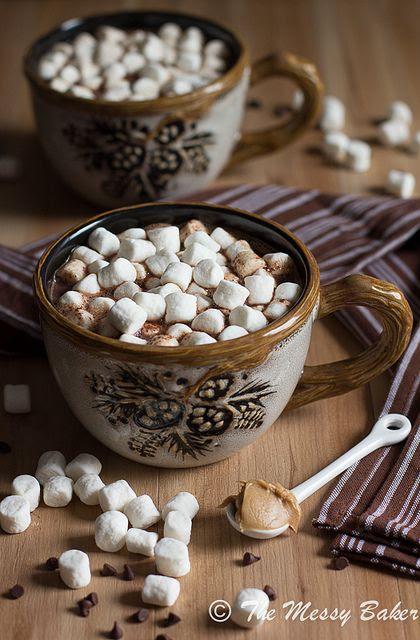 Milk Chocolate Peanut Butter Hot Chocolate