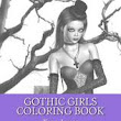 Gothic Girls Adult Coloring Book: Tabz Jones: 9781530174713: