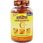 Nature Made Vitamin C Adult Gummies Orange 80 Gummies