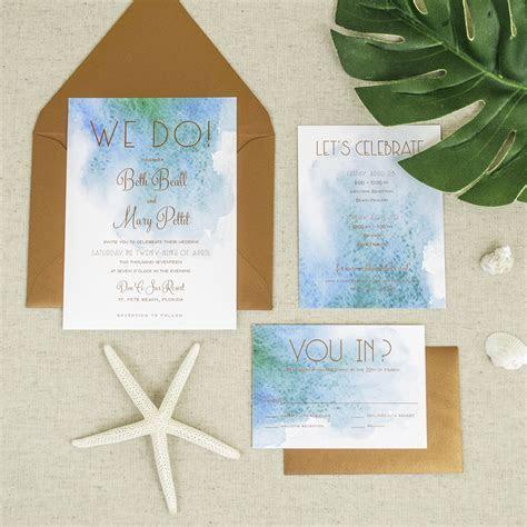 affordable Letterpress wedding Invitations tampa bay
