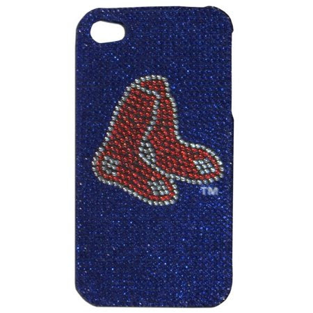 BUY Boston Red Sox Iphone Case - Glitz 4g Faceplate NOW