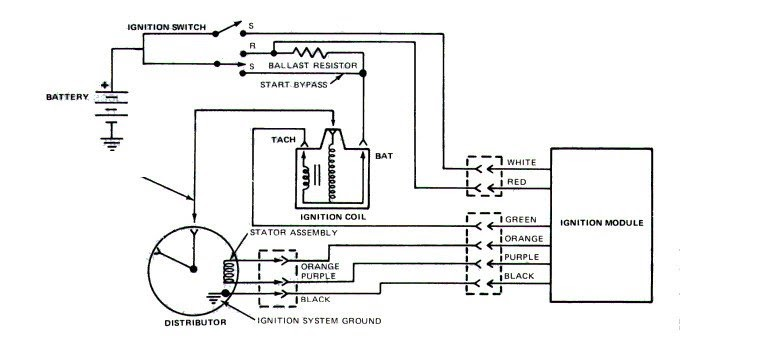 Ford Ignition Module Wiring Diagram 1982