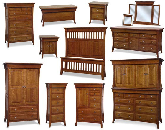 Banbury Amish Bedroom Furniture Collection | Amish Bedroom ...