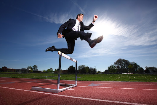 4 Keys To Jumping Those Hurdles And Getting Things Done Each Day | hamishbayston