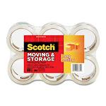 "Scotch Super Light-duty Packaging Tape - 1.87"" Width X 54.60 Yd Length - 3"" Core - Acrylic - 6 / Pack - Clear (MMM36506)"