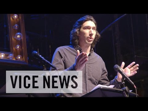 Adam Driver Brings Theater to the Military -