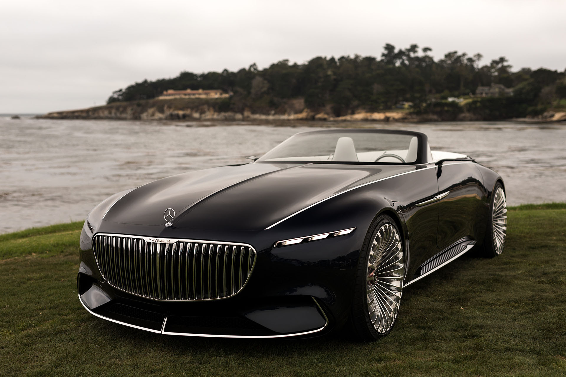 2017 Monterey: The Vision Mercedes-Maybach 6 Cabriolet ...