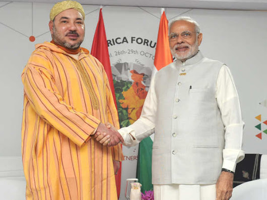 India-Africa Summit: India & Morocco are 'Partners In Progress' - The Economic Times