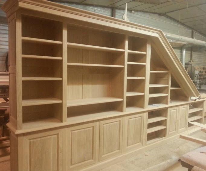 Librerie in legno su misura Malta