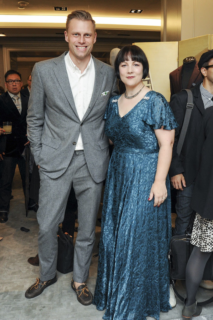 BERGDORF GOODMAN and BRIONI Celebrate the Publication of I am Dandy with Rose Callahan and Nathaniel Adams