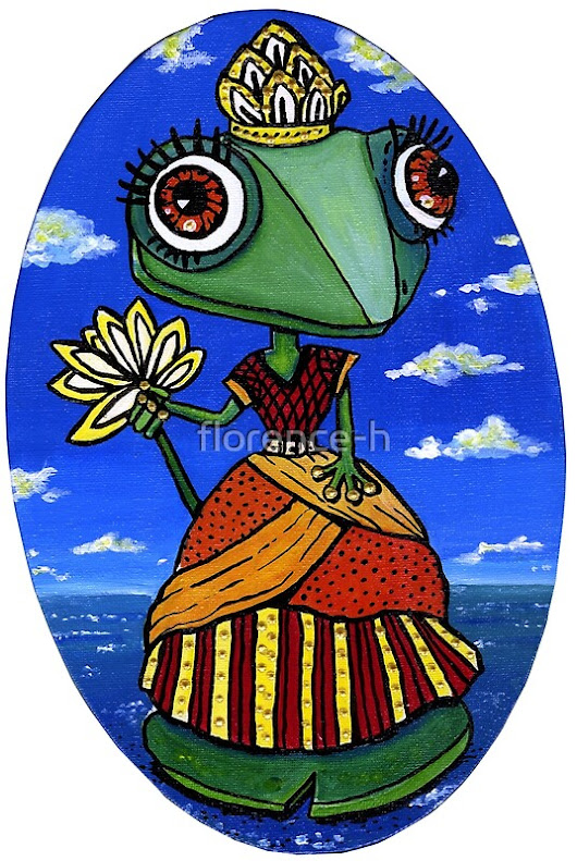 'Jolie princesse grenouille' by florence-h