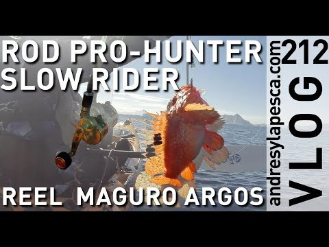 ROD PRO-HUNTER SLOW RIDER REEL MAGURO ARGOS