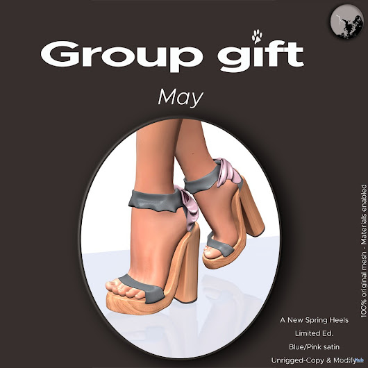 A New Spring Heels Group Gift by Petit Chat | Teleport Hub - Second Life Freebies