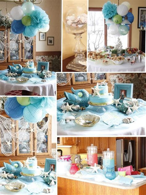 Under The Sea Bridal Shower!   Showers   Sea wedding theme