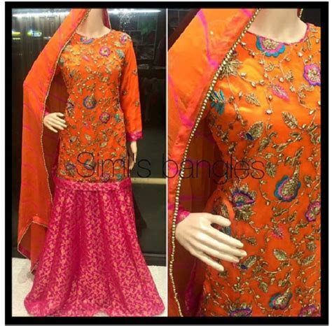 Latest Bridal Mehndi Dresses Designs 2018 2019 Collection