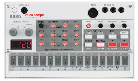 Volkaoss (VK) : A MIDI controller for the Korg Volca Sample and Kaossilator Pro - Use them as true synths