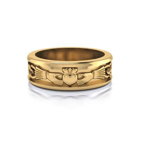 Men's Claddagh Wedding Ring   Jewelry Designs