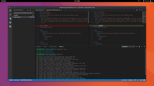 Visual Studio Code is now available as a snap on Ubuntu