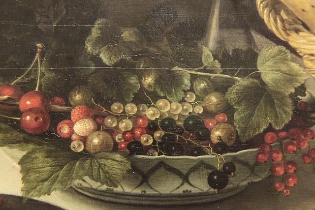 Part of Banquet piece, Pieter Claesz 1623