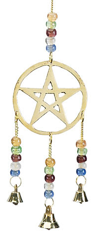 Pentagram and Celestial Wind Chimes
