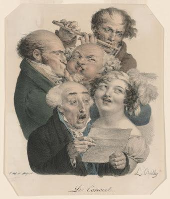 Louis-Léopold Boilly Le Concert (The Concert), 19th century
