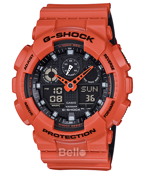 Casio Men's GA100L Premier G-Shock Military Watch