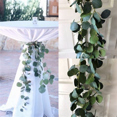 Silver Dollar Eucalyptus Garland Wedding Garland Greenery