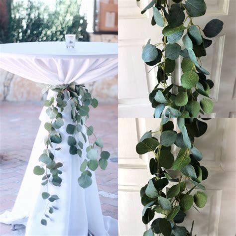 Silver Dollar Eucalyptus Garland Wedding Garland Greenery