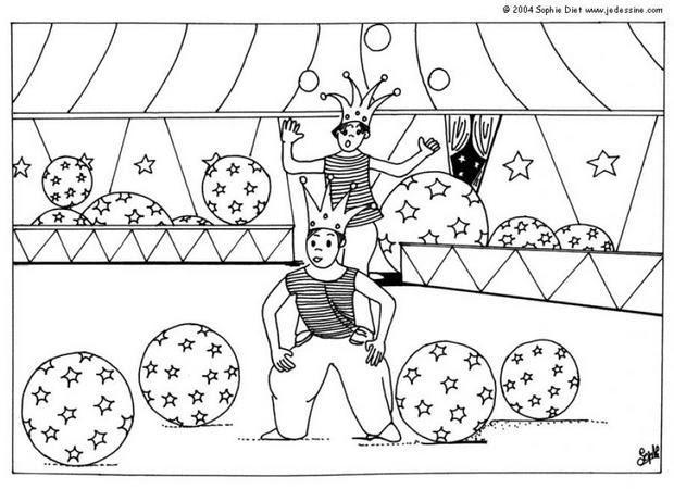 Coloriage Gratuit Cirque Coloriages Coloriage à Imprimer Gratuit