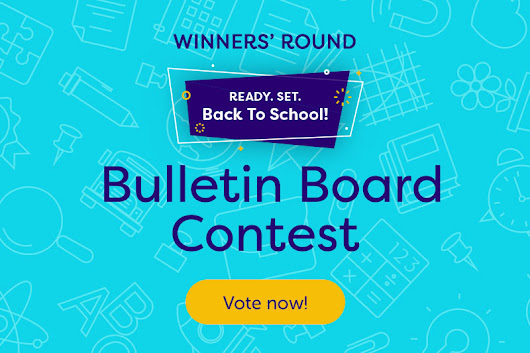 Vote for the Winner of the Ready, Set, Back-to-School Bulletin Board Contest
