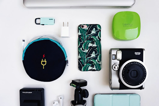 Must Have Travel Tech Accessories