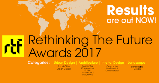 Rethinking The Future Awards 2017 | Architecture List