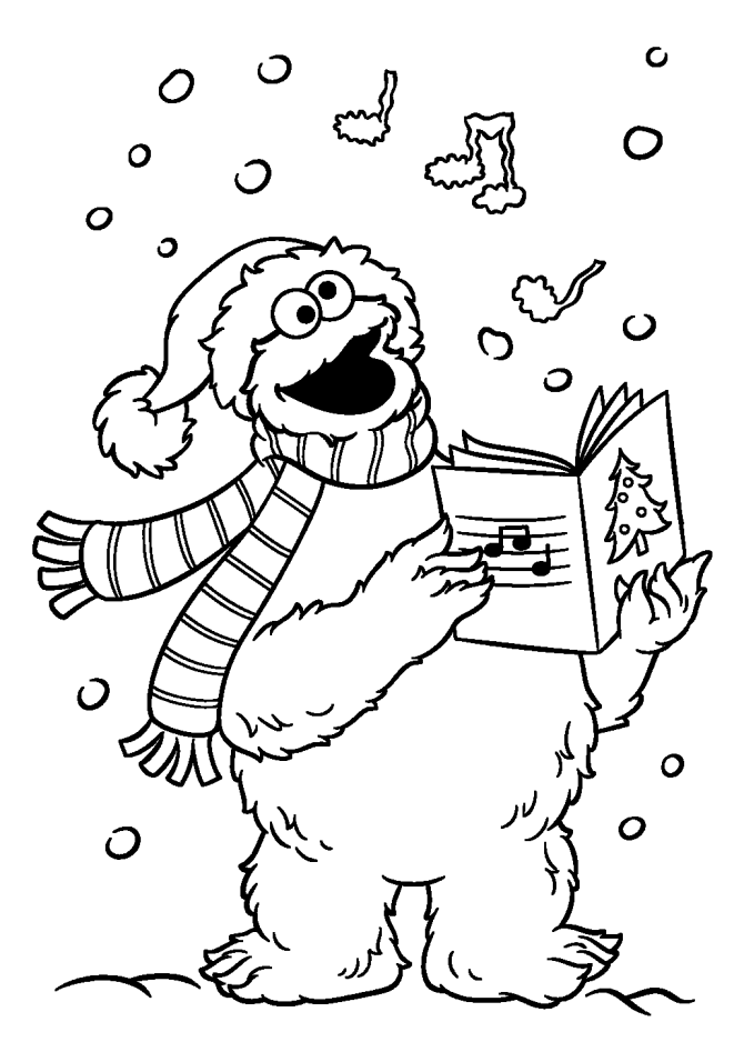 Sesame Street Coloring Pages - Coloringnori - Coloring Pages For Kids