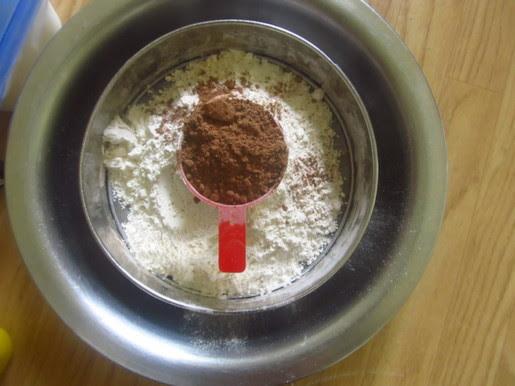 vegan chocolate cupcake 1