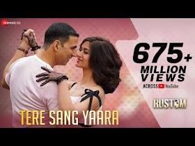 Tere Sang Yaara - Full Audio   Rustom   Akshay Kumar & Ileana D'cruz   Arko   Atif Aslam   Manoj M