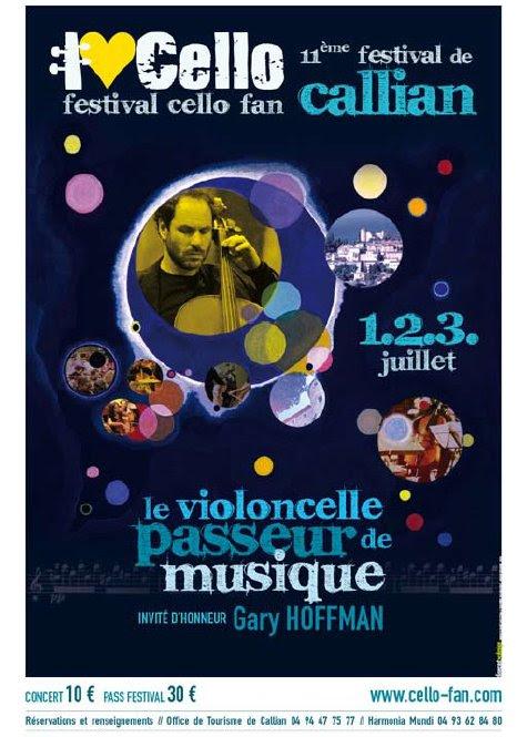 Pays de fayence une communaut du var festival de violoncelles 2011 1 2 et 3 juillet - Office de tourisme fayence ...