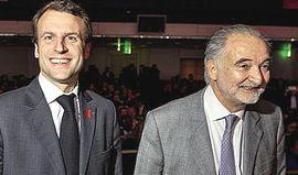 Macron con Attali