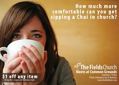The Fields Church - Newspaper Ad