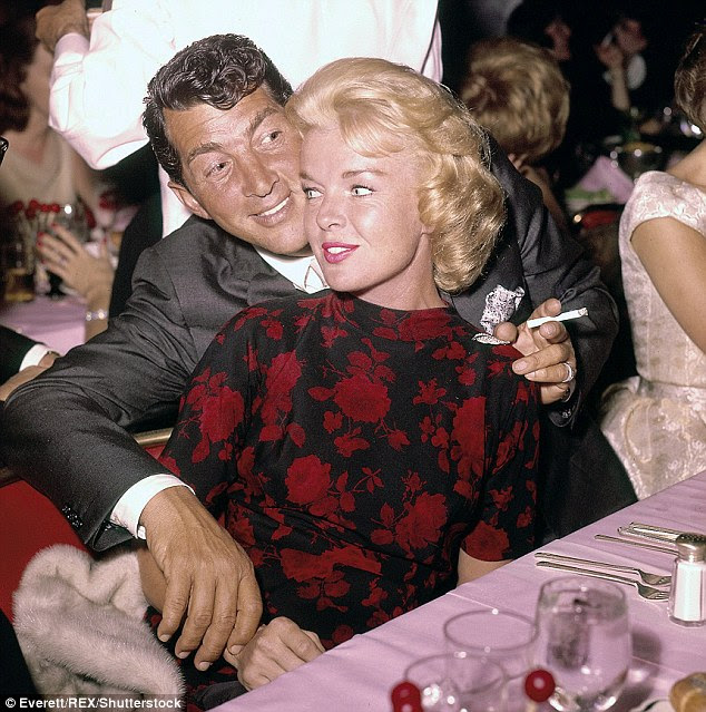 Fairytale romance: Jeanne, a Florida model, was just 22 when she wed the Rat Pack star one week after his divorce from his first wife Betty