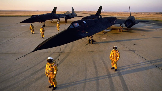 Flying the world's fastest plane: Behind the stick of the SR-71