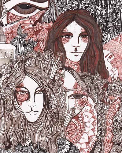Art Girls by megan_n_smith_99