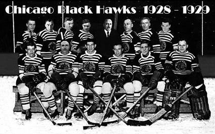 1928-29 Chicago Blackhawks team, 1928-29 Chicago Blackhawks team