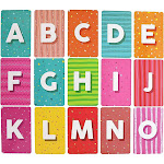 26 Count Magnetic Alphabet Letters Flash Cards, Large Uppercase (5.6 x 3.6 inch) for Kids and Toddlers PreSchool Early Learning, Teachers, Parents,