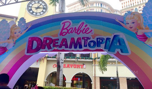 Mamanee Goes to Barbie Dreamtopia at the Venice Grand Mall
