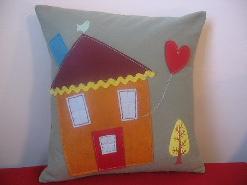 Home Is Where My Heart Is Pillow
