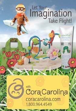 Cora Carolina is Our New Sponsor!