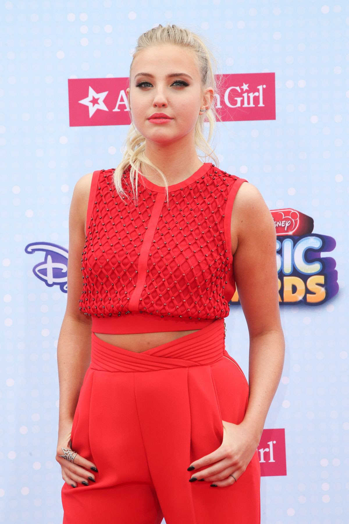 VERONICA DUNNE at 2015 Radio Disney Music Awards in Los Angeles